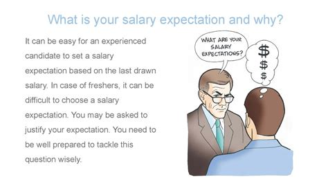 job salary expectation ppt slide interview