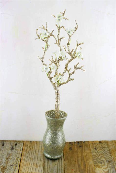 Gold Glitter 22 Artificial Manzanita Branches