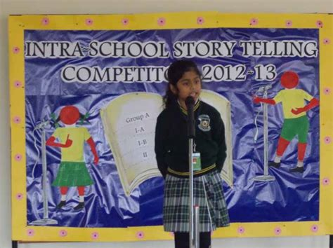 story telling competition vydehi school