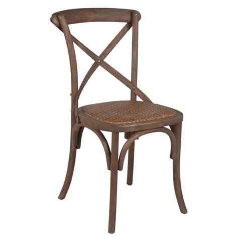 cdiscount chaise salle a manger chaise de salle à manger en rotin tressage serré