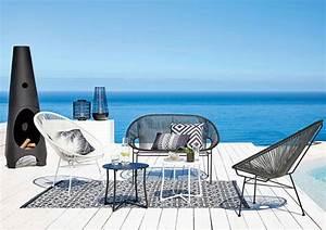 copacabana 1950s style outdoor seating at maisons du monde With paravent maisons du monde