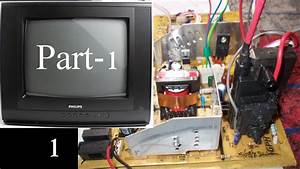 How To Assemble Crt Tv Circuit Board In Hindi