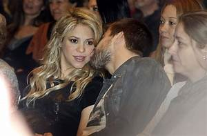Shakira and Gerard Pique Photos Photos - Shakira at Her ...