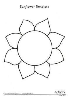 flower template  printable google search applique