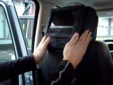 housse siege bmw ecran dvd avec housse pour appui tete par autoprestige