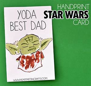 3 Easy DIY Star Wars Father's Day Cards