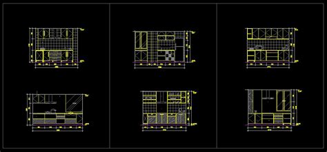 kitchen cabinet cad blocks kitchen design template cad files dwg files plans 5174