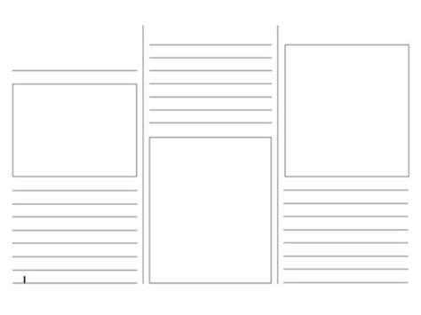 Blank Brochure Templates Cyberuse Blank Travel Brochure Template Cyberuse