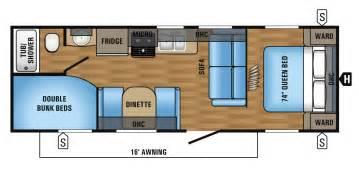 2 bedroom travel trailer floor plans and jay flight