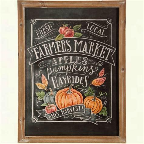 framed fall farmers market print antique farmhouse