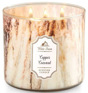 white barn candles copper coconut white barn scented candle review