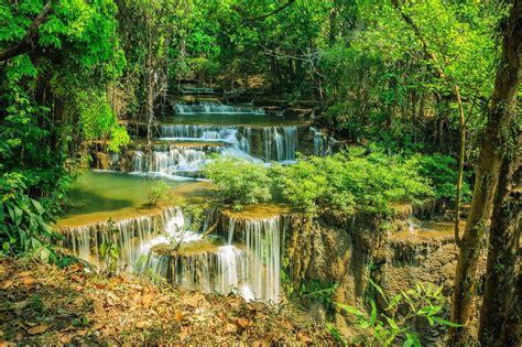 file huai mae khamin falls sinakharin dam national