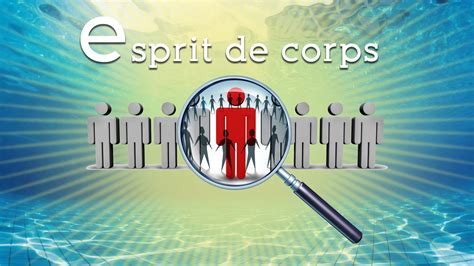 E Is For Esprit De Corps (part 1)