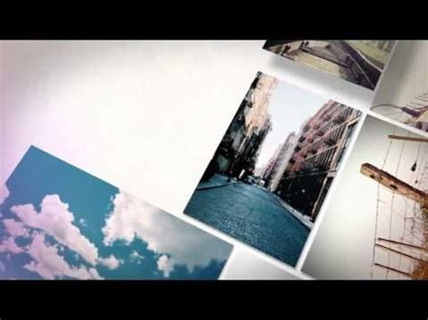 templates after effects free video e slideshow after effects template photo slideshow 3d ii youtube