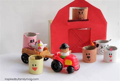 Barn Yard & Farm Animals Craft {tp Tubes Craft}