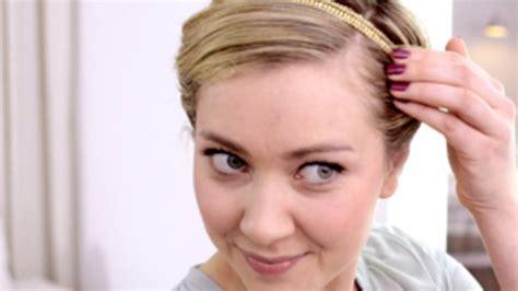 haarband richtig tragen kurze haare open ecg project