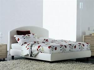 flou magnolia letto matrimoniale contenitore in tessuto cotone With letto matrimoniale flou