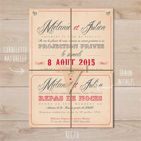 faire part mariage vintage gratuit faire part mariage cin 233 ma vintage sweet paper