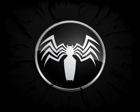 Marvel Comics Spider-man Spider-man Logo Venom Black