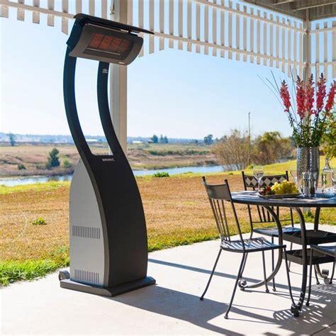 chauffage de terrasse chauffage de terrasse gaz design bromic smart heat parasol