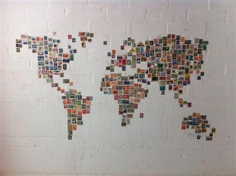 Acheter Carte Du Monde Originale by Le Carte Du Monde En Timbres Postaux Une Carte Du Monde