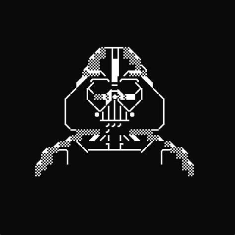 Darth Vader Animated Wallpaper - pixel pompeii textmode roundup wars