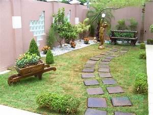 5 Modelos de Jardins Pequenos para sua casa Dicas Atuais
