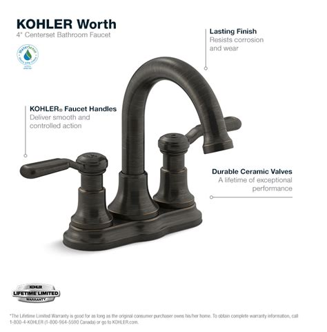 kohler faucet aerator wrench kohler worth 4 in centerset 2 handle bathroom faucet in
