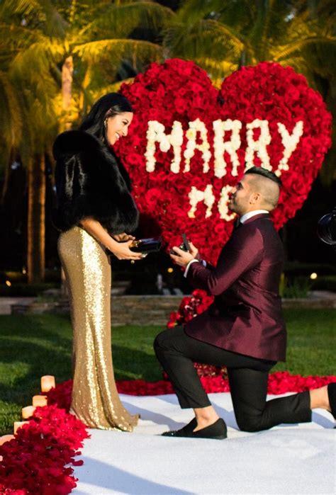 karas party ideas romantic marriage proposal surprise