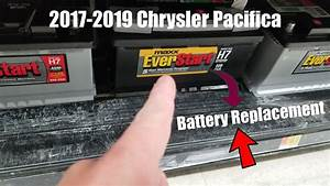 How To Replace Battery 2017-2019 Chrysler Pacifica