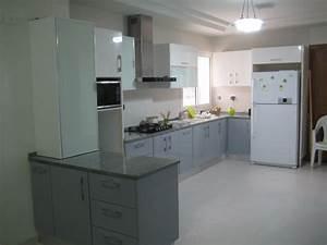 cuisine en mdf stratifie meubles et decoration tunisie With meuble de salle a manger avec acheter une cuisine Équipée