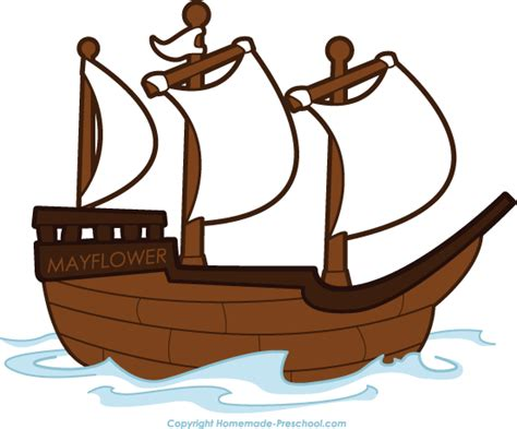 Cartoon Mayflower Boat by Boat Pirate Ship Clipart Black And White Free Clipart