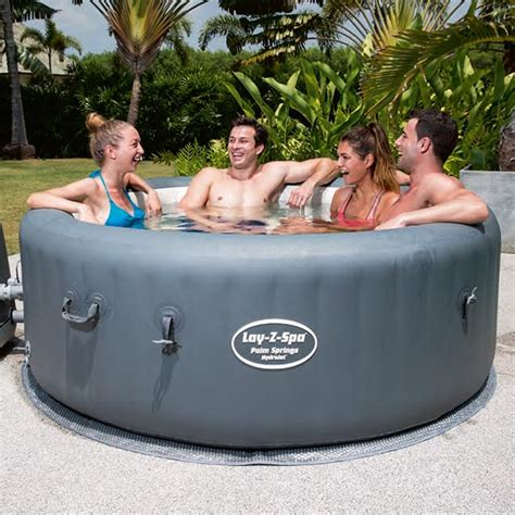 Layz Tub by Lay Z Spa Palm Springs Hydrojet Tub At