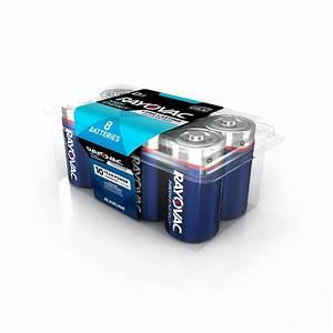 Batterie 1 5 Volt : rayovac high energy alkaline d 1 5 volt battery 8 pack ~ Jslefanu.com Haus und Dekorationen