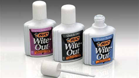 colored white out smells that don t exist anymore or are harder to find in