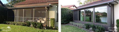 patio enclosure before after gallery lifestyle