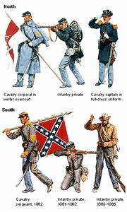 American Civil War Uniforms: The Union and the Confederacy ...
