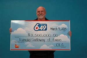 Oxford County man wins $2.5M in Lotto 6/49 | CTV London News