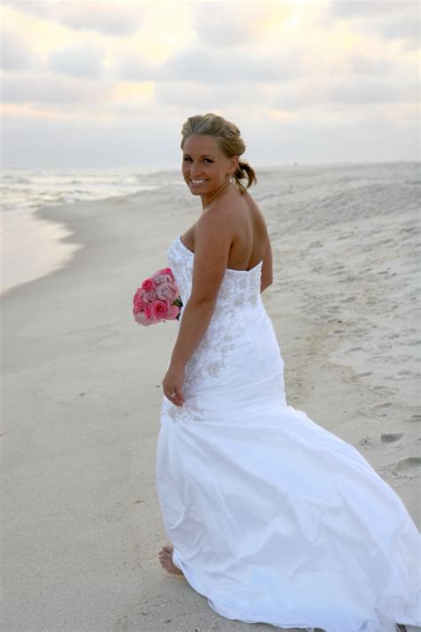 real navarre beach wedding holly  christopher panama