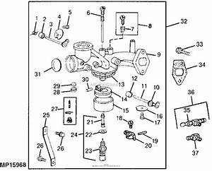 John Deere 111 Engine Diagram