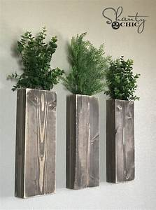 DIY Modern Farmhouse Wall Planters - Shanty 2 Chic