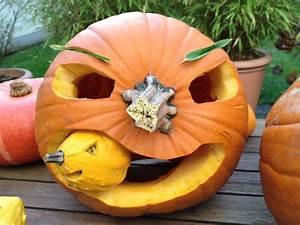 Kürbis Gesichter Gruselig : k rbis fressende halloween monster im anmarsch hello ~ A.2002-acura-tl-radio.info Haus und Dekorationen