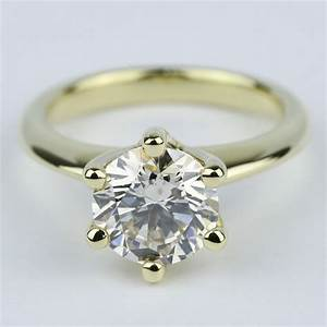 diamond color clarity chart classic engagement ring with m color diamond 2 carat