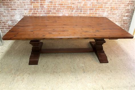 8 ft farmhouse table 8 39 ft x 5 39 ft reclaimed farm table rustic dining tables