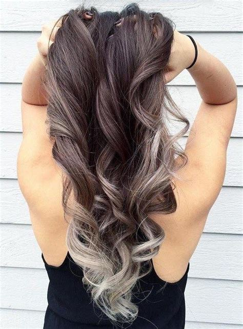 Brown Hair Or Hair On A by 40 Glamorous Ash And Silver Ombre Hairstyles Ash