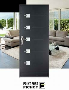Porte Blindée Maison : fichet stylea porte de maison blind e point fort ~ Premium-room.com Idées de Décoration