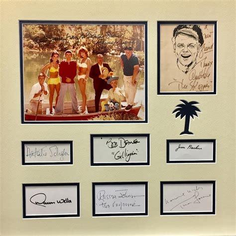 Gilligans Island 19 X 19 Custom Framed Photo Display