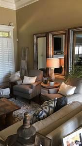 Cozy, Neutral, Living, Room