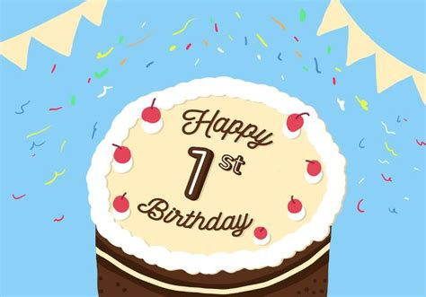 Free svg designs | download free svg files for your own. 1st Birthday Vector - Download Free Vectors, Clipart ...