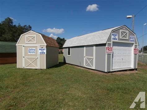 craigslist orlando storage sheds storage sheds new and used rent to own no credit check for